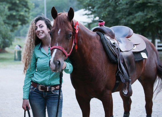 centro di equitazione reining
